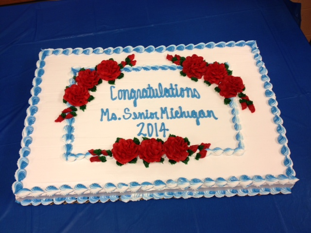 2014 Pageant - Cake